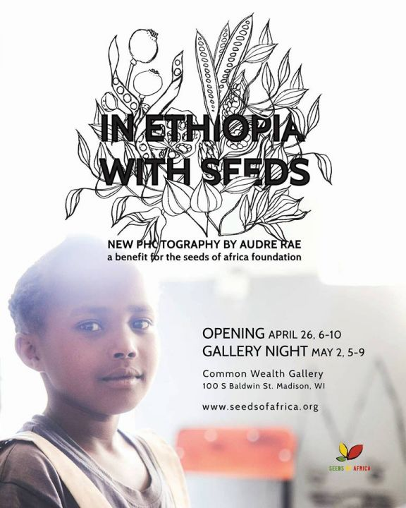 Seeds of Africa gallery opening flyer